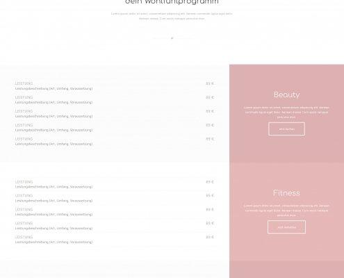 Webseite Homepage Beispiel Referenz